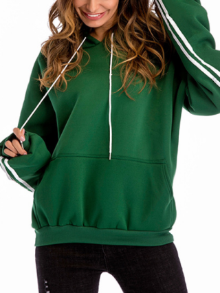 Fall and Winter Long Sleeve Thicken Loose Casual Hoodies