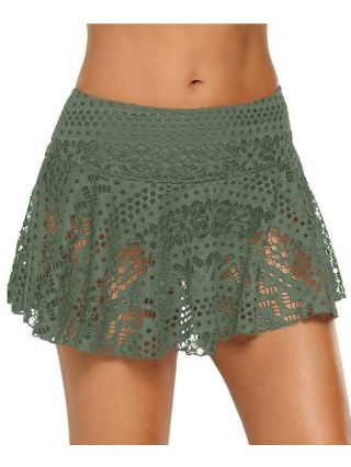 Knitting Cut Out Lace Holiday Beach Plus Size Hot Summer Skirts