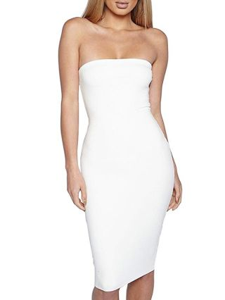 Sexy Off Shoulder Bodycon Chic Backless Summer Club Dresses