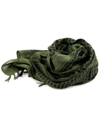 Unisex Outdoor Scarves Tactical Military Tassel Weaving Cover Face Shawl For Travelling Hiking