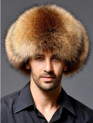 Casual Faux Fur Hat Winter Autumn Bomber Warm Outdoor Ear Protecting Caps For Man