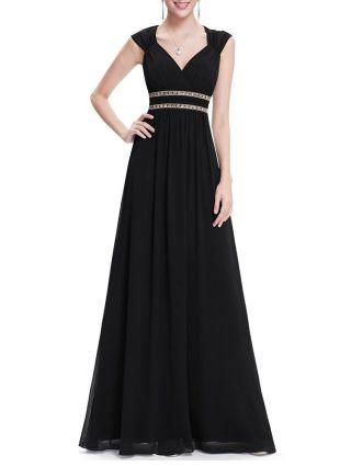 Plus Size Long Wedding Gown Dress Summer V-neck Backless Beading Maxi Chiffon Evening Dress